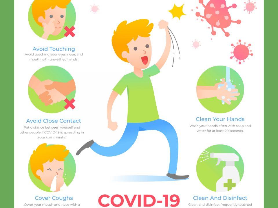 Covid-19 poster for children